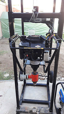 Water well drilling rig w/water pump and accessories