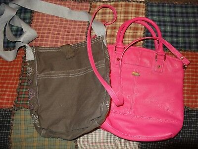 Lot of 2 Thirty-One 31 Purse/Handbags/Crossbody Excellent