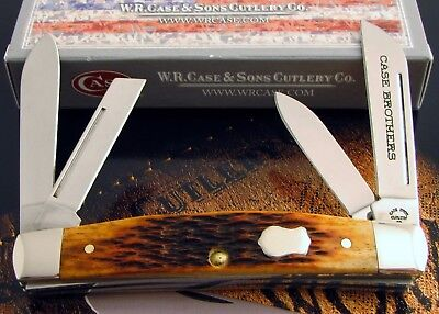 Case 2003 Issue NEW PRODUCT Set Case Bros Congress Knife SN #020 1 Of 100! NR