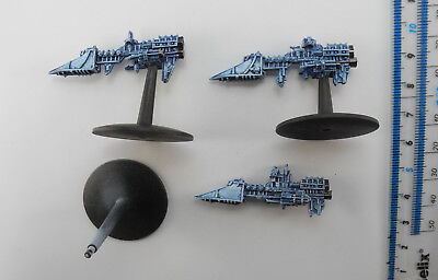 3 IMPERIAL SWORD CLASS FRIGATES Metal Battlefleet Gothic BFG Ships Painted A3c