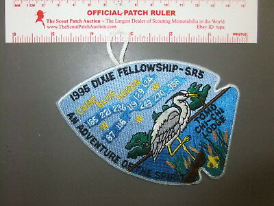 Boy Scout OA Section SR-5 1996 Conclave Dixie Fellowship 3352FF