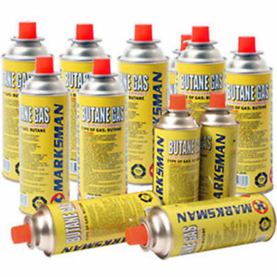 Butane Gas Bottles/ Canisters Ideal For Portable Stoves Grills Heaters