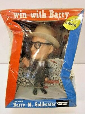 Vintage 1964 Remco Barry M. Goldwater Dashboard Doll Figure Unopened In Box