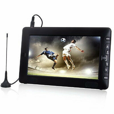 "9"" WideScreen Digital Portable TV Integrated Freeview & Recording PVR - USB HDMI"