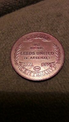 Leeds United V Arsenal 1972 Winners Coin Esso FA Cup Centenary Coin