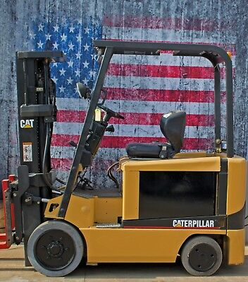 Caterpillar EC30K  Electric 6,000lb Forklift, Refurbished Battery and Charger