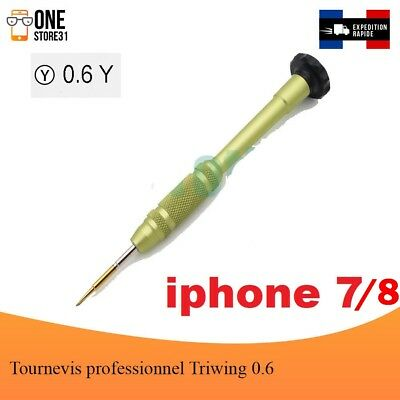 Tournevis professionnel Triwing 0.6 pour  iPhone 7 et 7 Plus Apple Watch