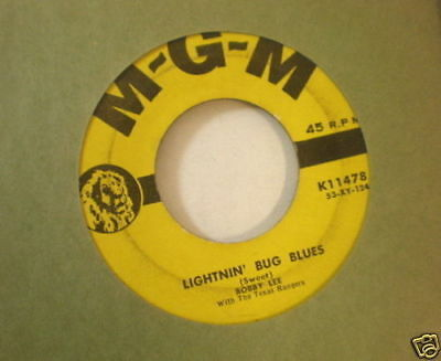 HEAR IT OBSCURE COUNTRY Bobby Lee MGM 11478