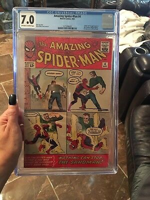 Amazing Spider-Man 4 CGC 7.0