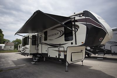 2018 Heartland Bighorn 3575EL 5th Wheel 3 Slide RV 1000 Miles Free Shipping