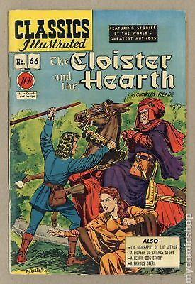 Classics Illustrated 066 Cloister and the Hearth (1949) #1 VG+ 4.5