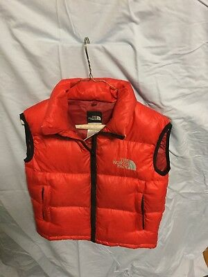 North Face Puffy Vest Size 7-8
