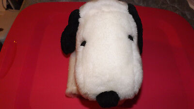 Plush Snoopy Hand Puppet with Collar Metlife The Peanuts Charlie Brown