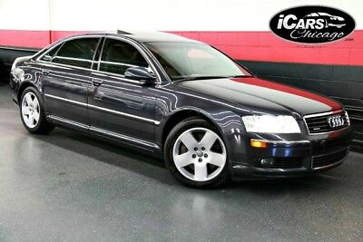 2004 Audi A8 L Sedan 4-Door 2004 Audi A8 L AWD 49,566 Miles 2-Owner Navigation Cold Weather Package Serviced