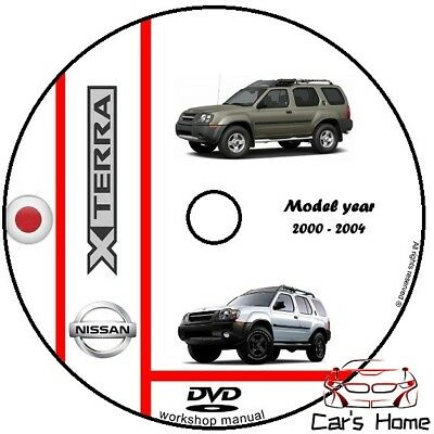 MANUALE OFFICINA NISSAN X-TERRA my 2000 - 2004 WORKSHOP MANUAL DVD