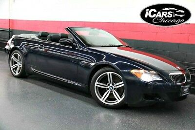 2007 BMW M6 Base Convertible 2-Door 2007 BMW M6 Convertible 35,837 Miles 109,575 MSRP Navigation Carbon Serviced WoW