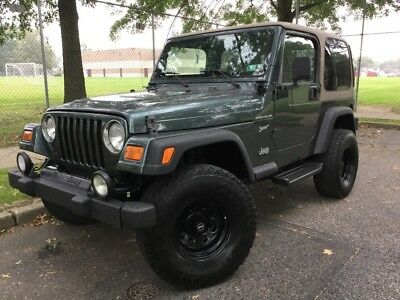 2002 Jeep Wrangler Sport 2002 Sport Used 4L I6 12V Automatic 4X4 SUV
