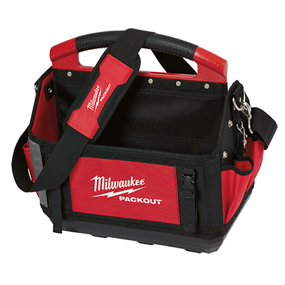 """New Milwaukee 48-22-8315 15"""" Inch Pocket Heavy Duty Packout Tote Bag"""