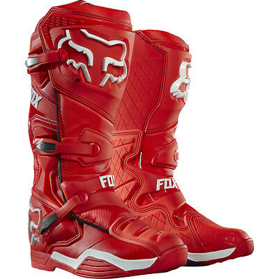Fox Racing Comp 8 2016 MX/Offroad Boots Red