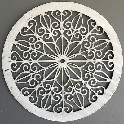Decorative Round Metal Wall Panel/Garden Art/Screen/Wall Decor Sculpture Outdoor