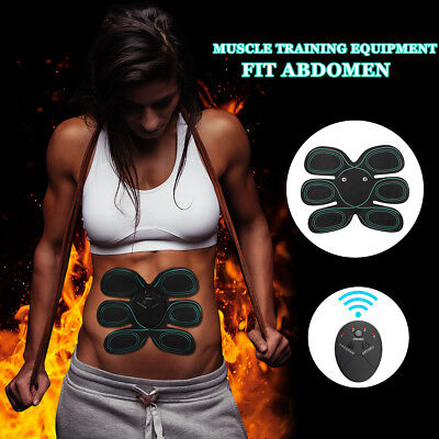 EMS Muscle ABS Training Body Shape Set Stimulator Gear Abdominal Home Exercise