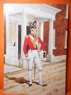 Military Postcard THE COLDSTREAM GUARDS, set 29 card 3.