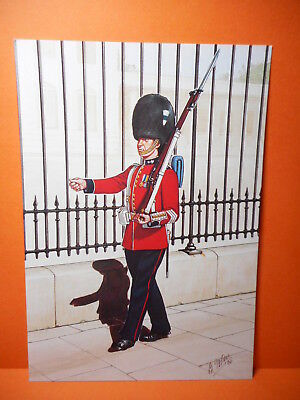 Military Postcard THE WELSH GUARDS, 1933. set 31 card # 2