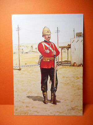 Military Postcard THE COLDSTREAM GUARDS, 1882. SET 29, CARD # 4.