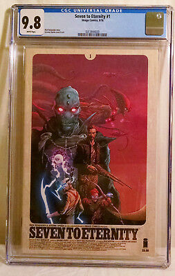 Seven to Eternity #1 CGC 9.8 Cover A Remender Opena Image 1st Print NM/MT