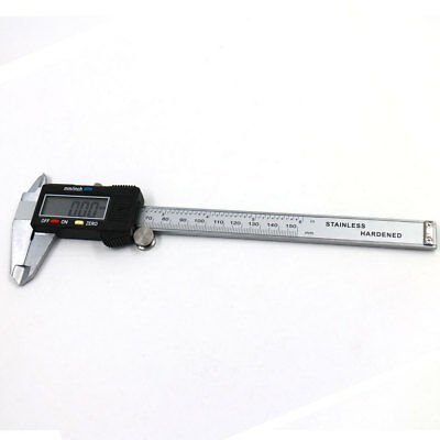 6 inch/150mm Digital Electronic Gauge Stainless Steel Vernier Caliper Micrometer