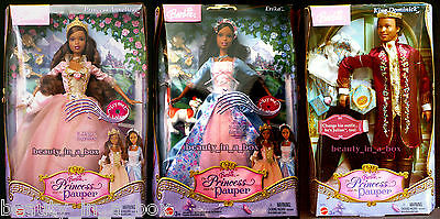 Anneliese Erika Barbie Doll Dominick African American Princess and Pauper AA PG""
