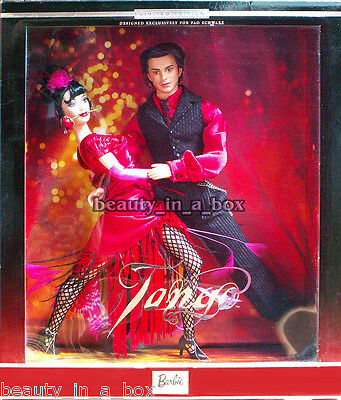 The Tango Dance Barbie & and Ken Doll Together Gift Set VG