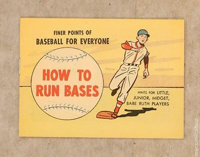 Finer Points of Baseball For Everyone: How to Run Bases (1958) #1962 NM- 9.2