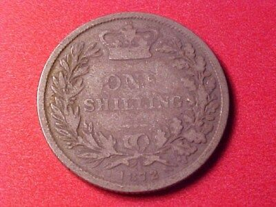 Great Britain 1 Shilling Silver 1872 Victoria