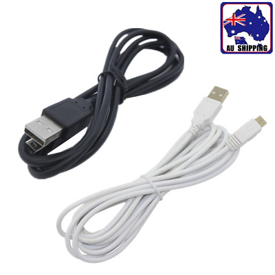 USB Data Charging Charger Cable For Nintendo WII U Gamepad Controller EUSB863