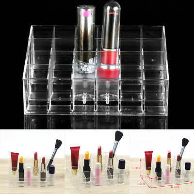 24 Bottles Polishes Storage Organizer 4 Tier Acrylic Nail Polish Display Holder