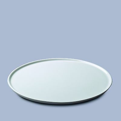 WM BARTLEET & SONS White Porcelain Cake Stand, Large Flat Cake Plate