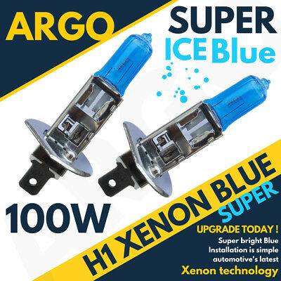 H1 XENON ICE BLUE 55W BULBS FRONT CORNERING BEAM 12V HEADLIGHT HEADLAMP 448 X 4
