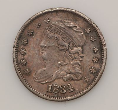 1834 Capped Bust Silver Half Dime *G12