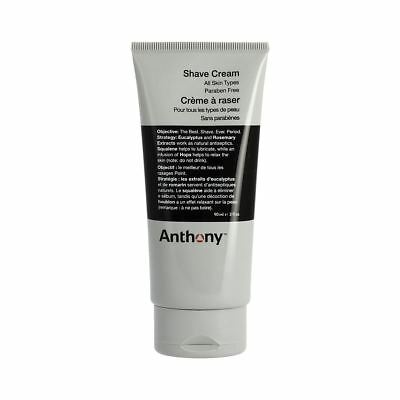 Anthony Logistics Mens Shave Shaving Cream . All skin types . 90ml skin care
