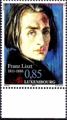 Luxembourg 2011 Music Franz Liszt Composer People 1v MNH