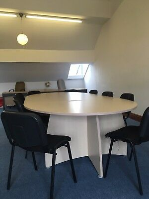 Boardroom Table and 10 chairs