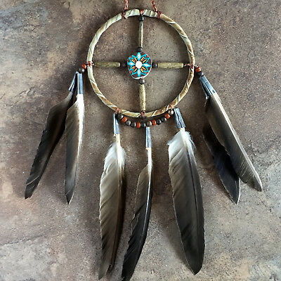 Navajo Medicine Wheel-Native American Art-Navajo Circle of Life Medicine Wheel
