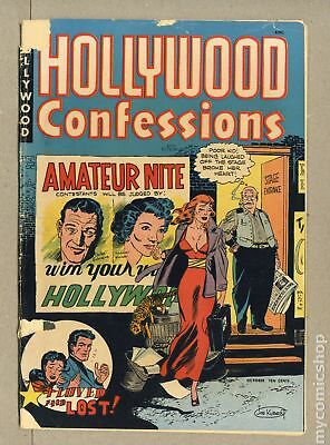Hollywood Confessions (1949) #1 FR/GD 1.5