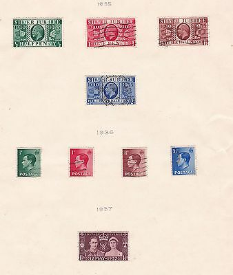 GREAT BRITAIN  ^^^^^^1935-37  used selection   $$  @ f9040xxbgb