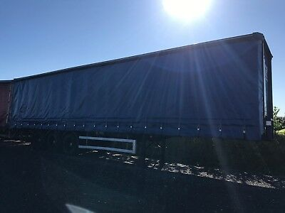 Montracon 45ft curtainside with tail lift