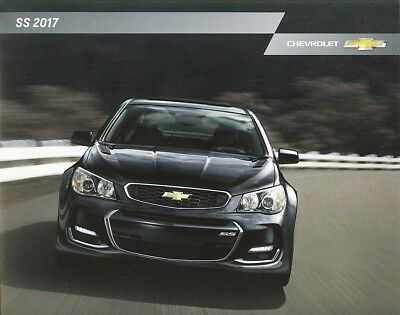 2017 Chevrolet SS 415 HP Sport Coupe Holden Commodore Dealer Sales Brochure