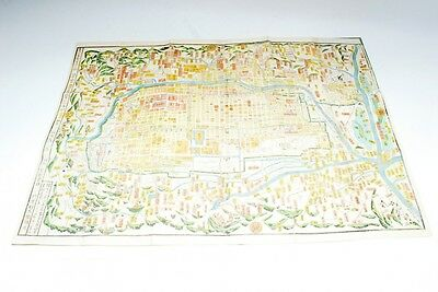 Rare 1863 The map of Kyoto (mn13)
