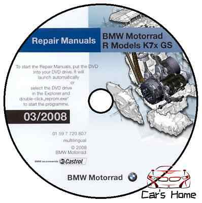 Manuale Officina Bmw F650 F800 Gs S St V03/2008 Workshop Manual Service Reprom