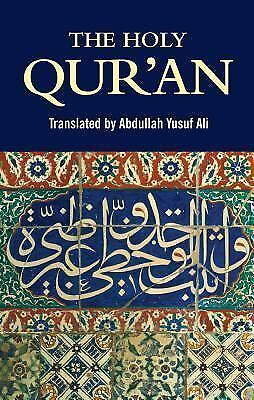 : The Holy Qur'an by Abdullah Yusuf Ali (2000, Paperback)